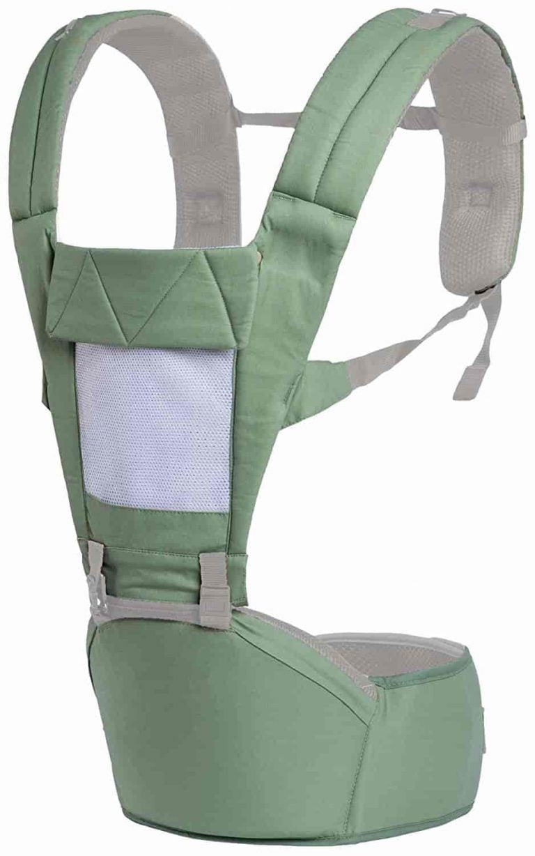 R for Rabbit Upsy Daisy Smart Hip Seat Baby Carrier Green Color