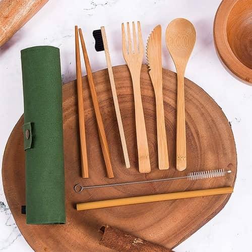 Best Reusable Bamboo Cutlery Set
